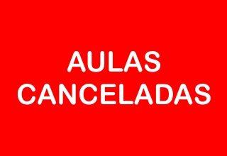 AULAS CANCELADAS